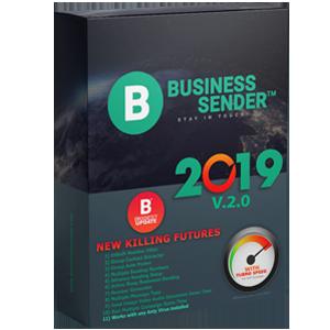 BUSINESS SENDER 10 PC KEYS